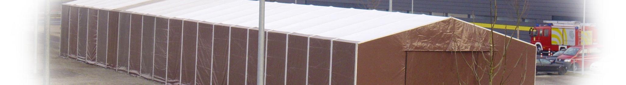 Plane Für überdachung : mit plane in dach und wand zelte und leichtbauhallen von leube ~ Indierocktalk.com Haus und Dekorationen