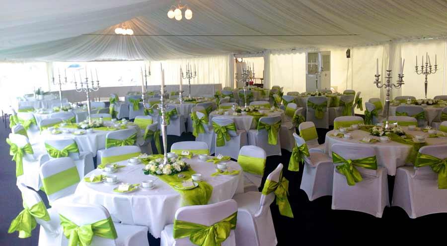 Zelte und leichtbauhallen von leube privatfeier hochzeit for Festzelt dekoration