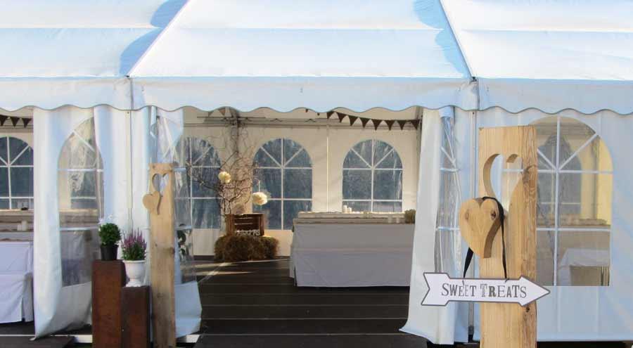 Zelte Und Leichtbauhallen Von Leube Privatfeier Hochzeit